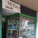 M Conte Tailor shopfront